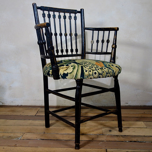 Ebonised & Gilt Sussex Occasional Chair