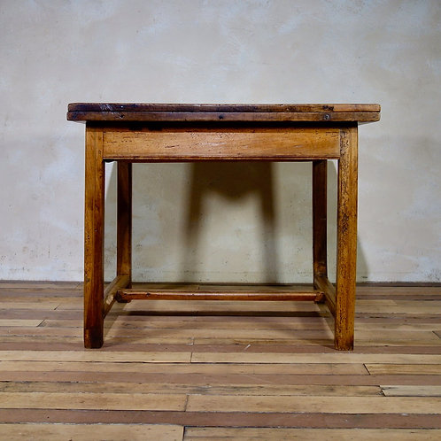 18th Century French Fruitwood Folding Provincial Table