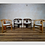 Thumbnail: Six Midcentury 'Pigreco' Chairs Afra and Tobia Scarpa Style