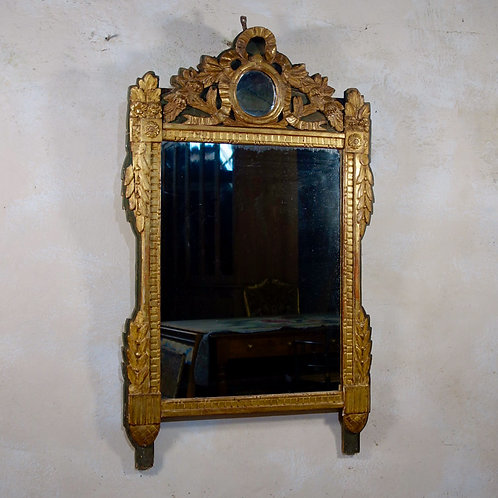 A Large French Louis XVI Giltwood  Mirror Wall