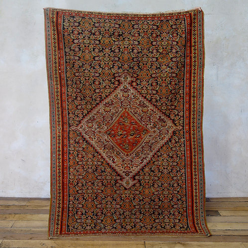 A Fine Early 20th Century Senneh Kilim Rug