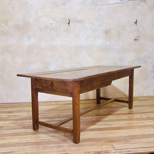A George III Oak Country farmhouse Table - Refectory