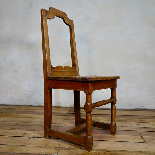 A Small 18th Century French Backstool - Lorraine Chair