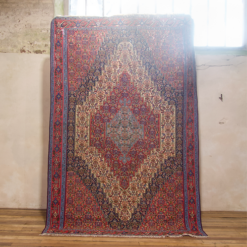 A Large Mid 20th Century Persian Senneh Kilim