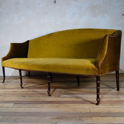 An Exceptional George III Settee - Sofa