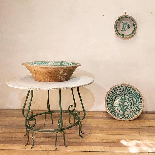 "A Large 19th century Spanish Granada Fajalouza ""Lebrillo"" Bowl"
