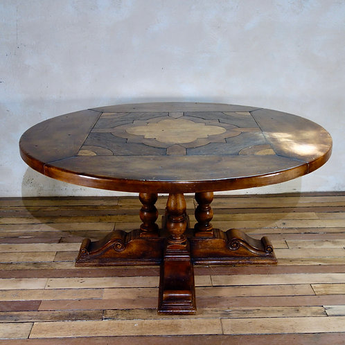 A Large Early 20th Century Center - Dining Table