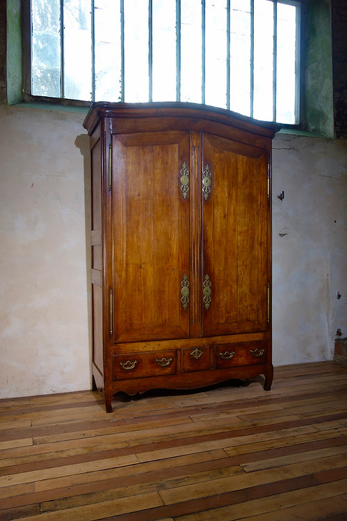 18th Century Walnut Armoire