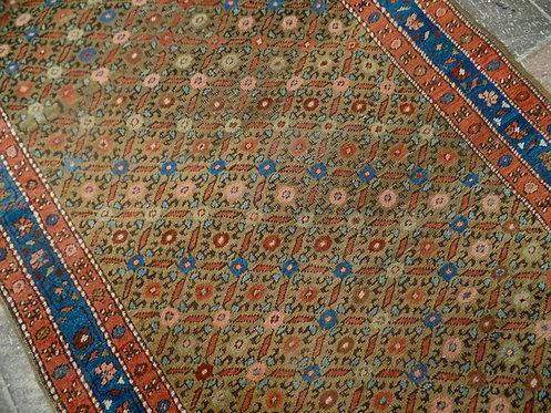 A Large Hamadan Persian Runner Rug