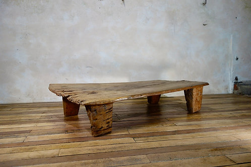 A Single Plank Coffee Table