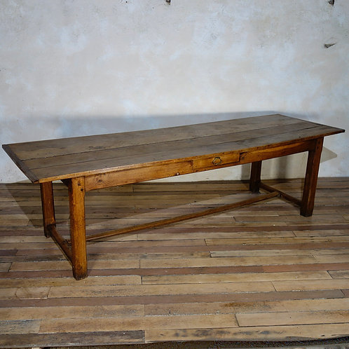 A Large 18th Century French Farmhouse Table