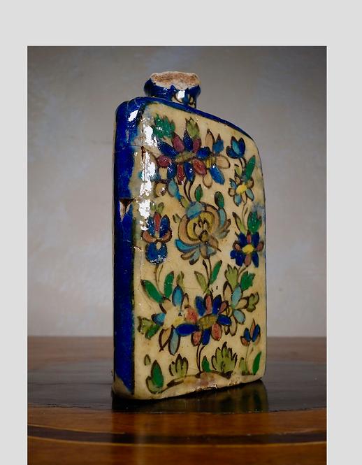 A Triangular Persian Vase