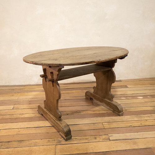 An 18th Century  Swedish Bockboard table
