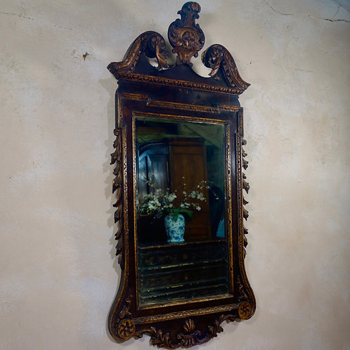 A Large George II Style Mirror
