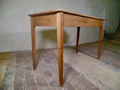 A Rustic Small Pine Table