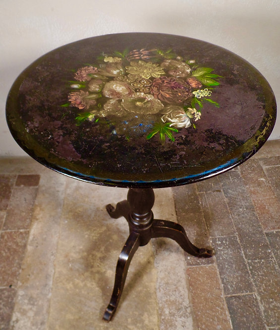 Scottish style slate top table