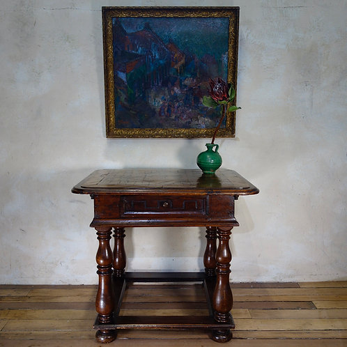 An 18th Century French Provincial Walnut Centre Table