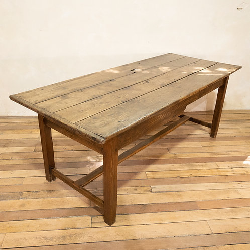 A George III Oak Country farmhouse Table - Refectory