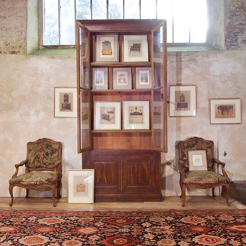 A Set Of Twelve 20th Century Watercolour Paintings W.&J. Sloane - Furniture