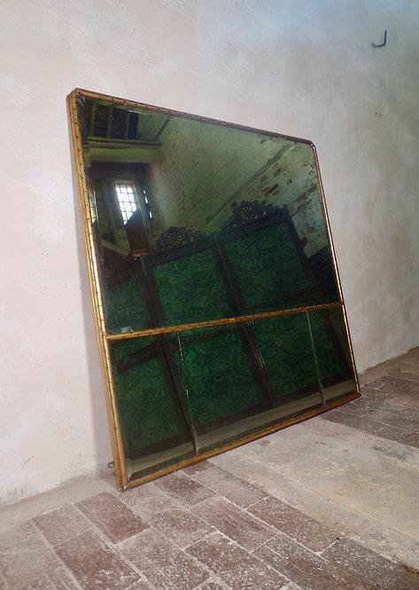18th Century Style Giltwood Overmantel Mirror