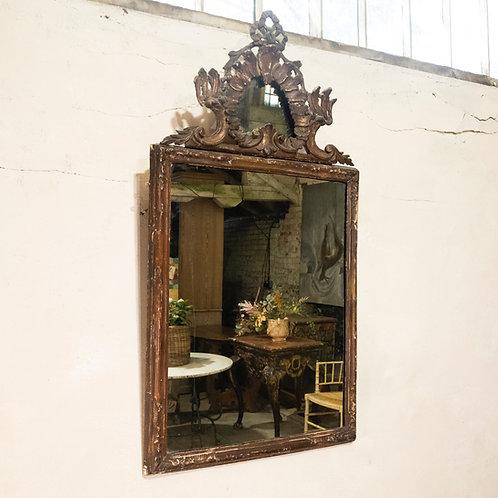 A Large 18th-century Italian Rococo Wall Mirror