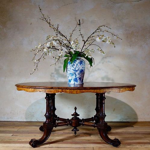 A 19th Century Walnut Breakfast - Centre Table