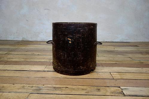 A Primitive 19th-century bushel barrel - Measure vessel