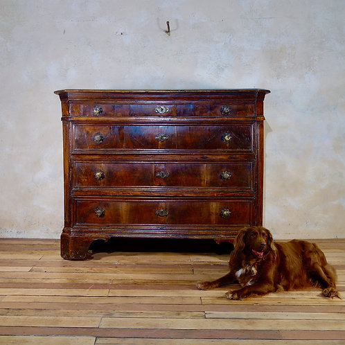 A Large Scale 17th Century North Italian Commode