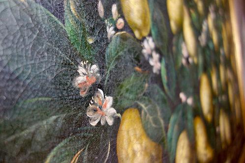 A Large 'Studio of Miguel Canals' Painting Lemons after Bartolomeo Bimbi