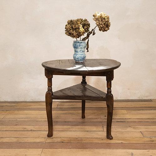 An 18th Century Oak Cricket Table