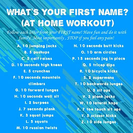 Name Work Out 5.11-5.15 for Work It Out.