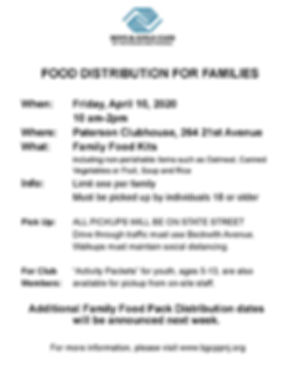 Paterson BGCPP food distribution flyer 4
