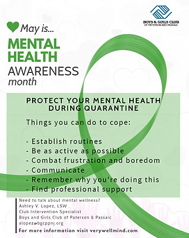 Mental Health Awareness during Quarantin