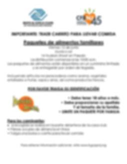 Food Distribution Flyer Passaic SPANISH-