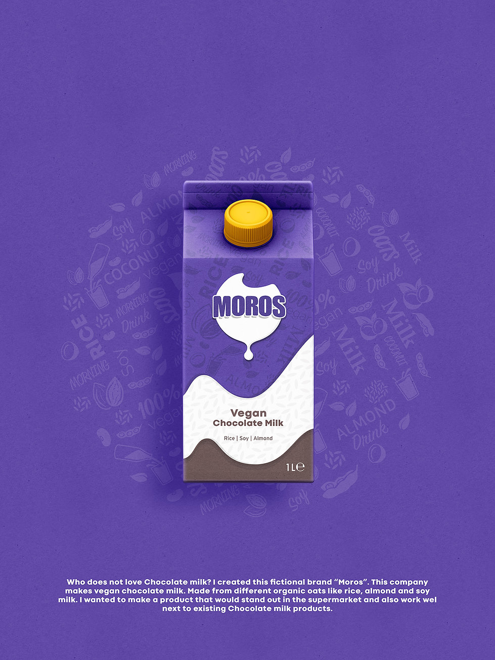 Packaging Design - Moros - Chocolate mil