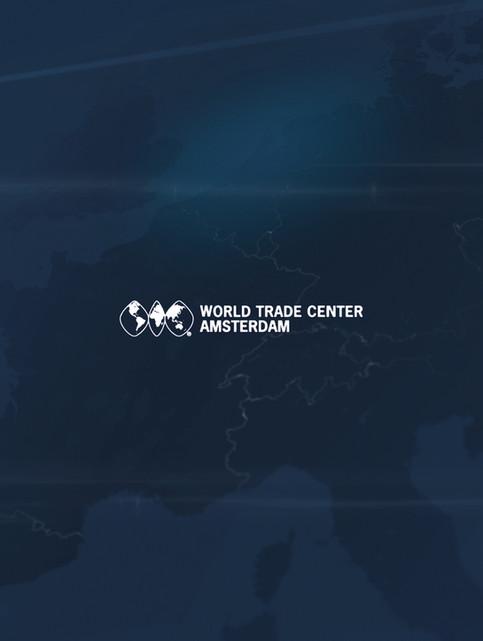 World Trade Centre Amsterdam - World kaart