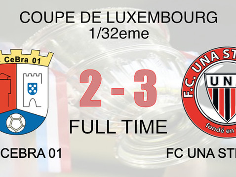 Coupe de Luxembourg 1/32eme