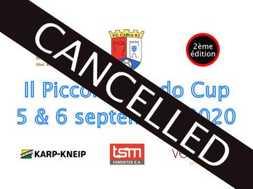 Il Piccolo Mondo Cup 2020 annulé