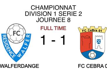 Championnat J8 : Walferdange - CeBra
