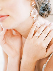 Bridal Hair And Makeup in Dallas, Texas. Bridal Jewelry in McKinney, Texas.