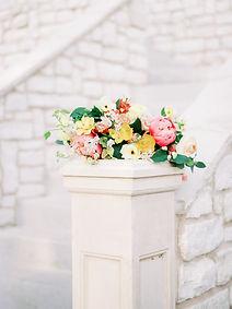 Bridal Bouquet at a Wedding Venue in Aubrey, Texas