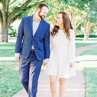 Bright and Airy Engagement photography in McKinney, Texas.