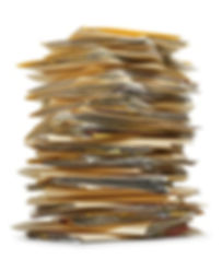 A stack of manilla folders