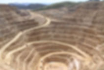 Image of an open pit mine in Nevada