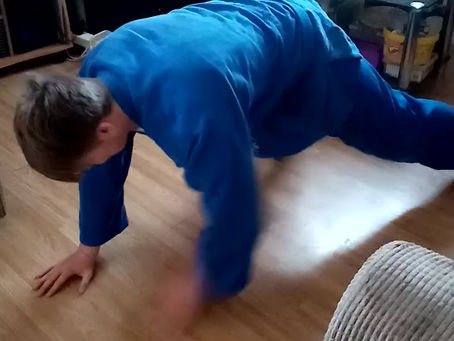 JUDO SUIT REMOVAL CHALLENGE
