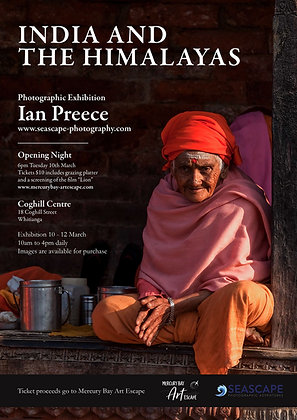 India and the Himalayas: Opening Night Tuesday 10th March 6pm