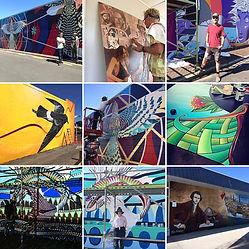 Tuia 250 Whitianga Street Art Festival m