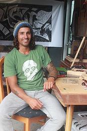 Martinus Sarangapany Printmaker Hahei.jp