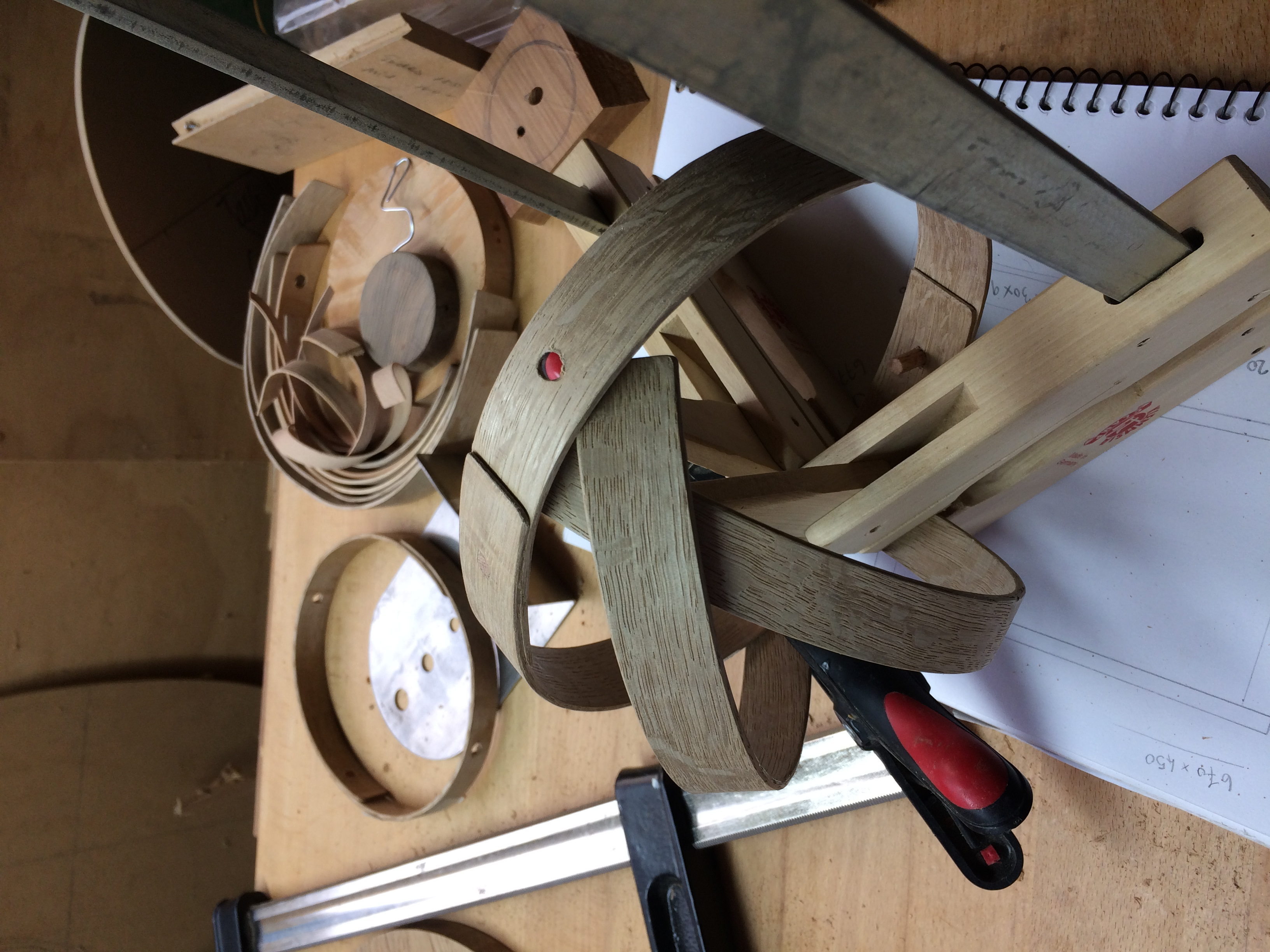 Steam Bending Timber