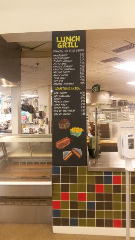 eBay Cafe Lunch Grill Menu-wideshot